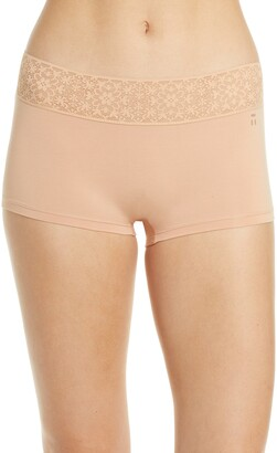 Tommy John Cool Cotton Lace Boyshorts