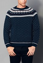 Forever 21 Dotted Fair Isle Sweater