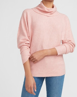 Express Cozy Thermal Wedge Turtleneck Sweater