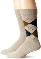 Dockers 2 Pack Argyle Crew Socks