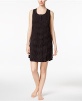 Charter Club Printed Cotton Knit Chemise, Only at Macy's