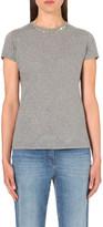 Valentino Rockstud cotton-jersey t-shirt