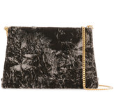 Maison Margiela crushed velvet clutch