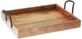 Thirstystone Wood & Iron Rectangular Tray
