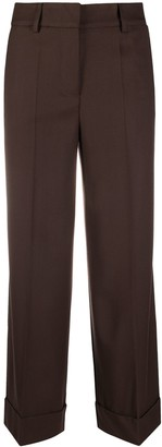 P.A.R.O.S.H. Flared Crop Trousers