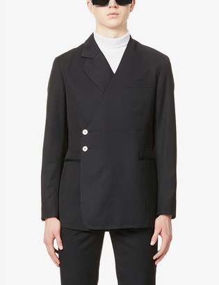 Pieces Uniques Taylor double-breasted wool blazer