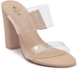 Call it SPRING Falelia Slide Heeled Sandal