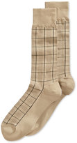 Perry Ellis Men's Houndstooth Plaid Socks
