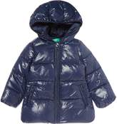 Benetton Girls Padded Hooded Jacket