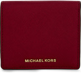 MICHAEL Michael Kors Saffiano leather purse and logo keyring set