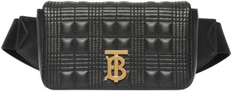 Burberry Quilted Lambskin Lola Bum Bag