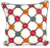 Mackenzie Childs MacKenzie-Childs Tic-Tac-Posie Throw Pillow