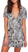 Missguided Women's Plunge T-Shirt Dress