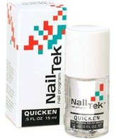 Nail Tek QUICKEN Fast Dry Top coat Nail Polish 0.5oz