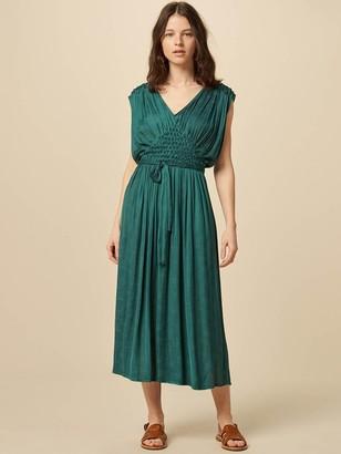 Sessun Ava Dress In June Green - M