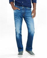 Express straight leg loose fit flex stretch jeans