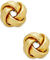 Macy's Love Knot Stud Earrings in 14k Gold or White Gold