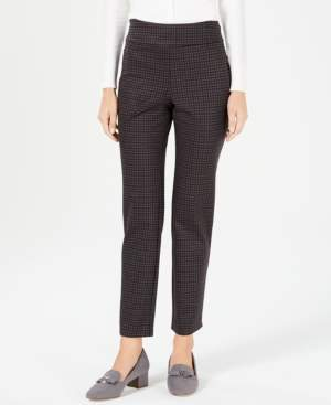 Charter Club Petite Pull-On Ankle Pants, Created for Macy's