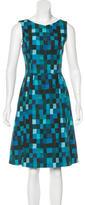 Akris Punto Sleeveless A-Line Dress
