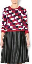Kling Geometric Print Sweater