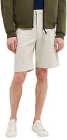 Jaeger Lou Dalton Textured Shorts, White