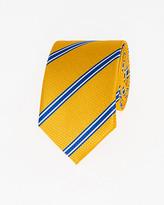 Le Château Stripe Microfibre Skinny Tie