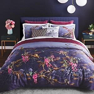 Ted Baker Hibiscus Comforter Set, Full/Queen