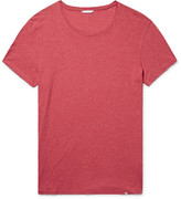 Orlebar Brown Ob-t Slim-fit Mélange Cotton-jersey T-shirt