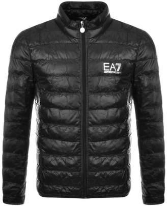 Emporio Armani Ea7 EA7 Quilted Jacket Black