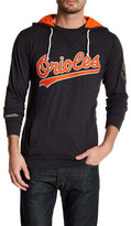 Mitchell & Ness MLB Oriole Away Team Hooded Sweatshirt