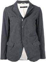 Klasica - asymmetric blazer - women - Cotton - 2