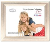 Inov-8 Inov8 British Made Traditional Picture/Photo Frame, 5x4-inch, Value Silver