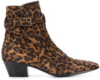 Saint Laurent West Jodhpur 45mm boots
