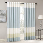 Asstd National Brand Chester Polyoni Pintuck-Striped Rod-Pocket Curtain Panel