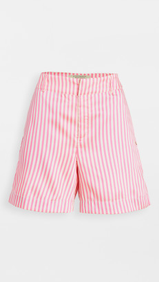 Scotch & Soda Striped Tailored Shorts