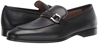 Salvatore Ferragamo Sidney Loafer (Black) Men's Shoes