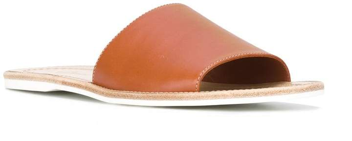 Car Shoe wide strap sandals