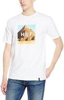 HUF Men's Pyramids Box Logo T-Shirt