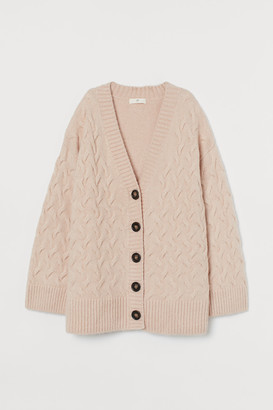 H&M Cable-knit Cardigan