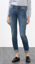 Esprit OUTLET edc - stretch jean w dart detail