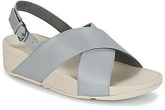 FitFlop LULU CROSS BACK-STRAP SANDALS women's Sandals in Grey
