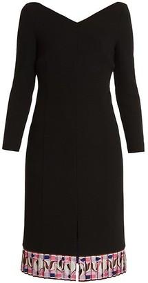 Emilio Pucci Double Virgin Wool Sheath Dress