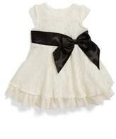 Us Angels Ruffle Lace Dress (Baby Girls)