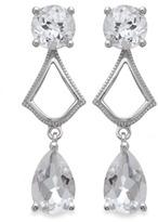 Badgley Mischka Fine Jewelry Statement Chic Earrings