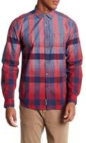 Heritage Long Sleeve Plaid Slim Fit Woven Shirt