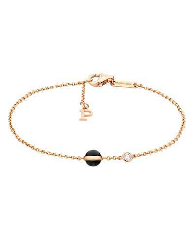 Piaget Possession Onyx & Diamond Station Bracelet