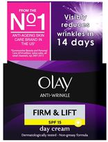 Olay Anti-Wrinkle Firm & Lift Anti-ageing Moisturiser Day Cream SPF15 50ml