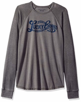 Lucky Brand Men's Long Sleeve Lucky COLA Thermal Shirt
