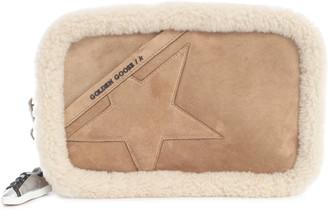 Golden Goose Star Bag Fur Profile Suede Body Suede Star And Shoulder Strap