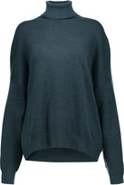Derek Lam Cashmere and silk-blend turtleneck sweater